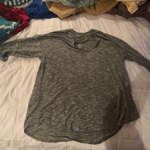 Dark gray shirt from Maurices